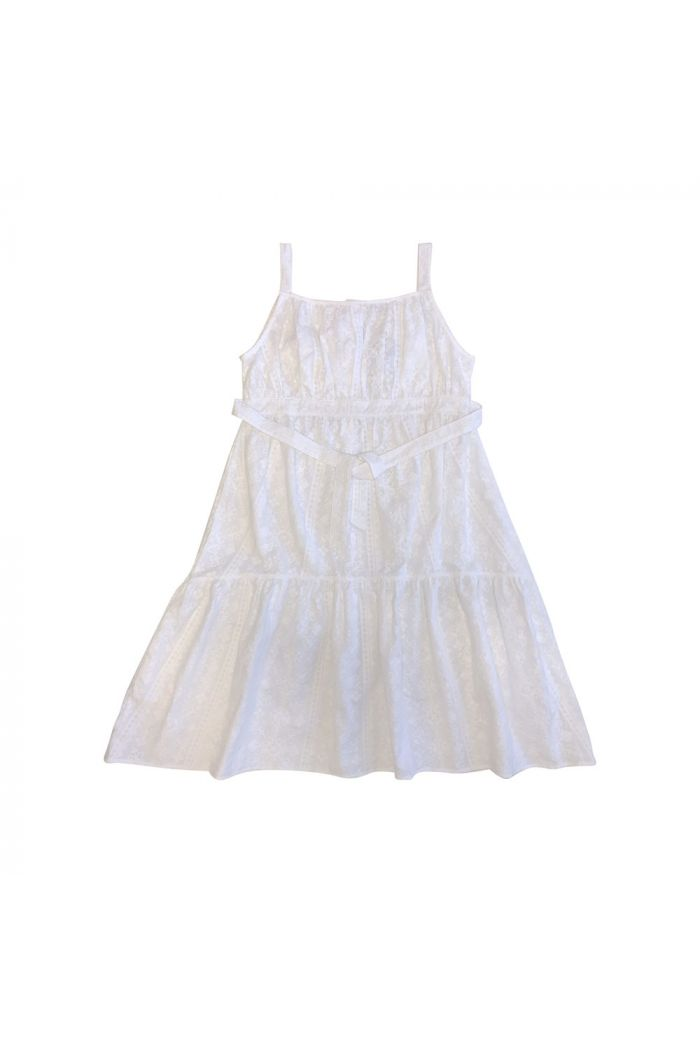 Maed for Mini Embroidered Long Summerdress Frosty Fox