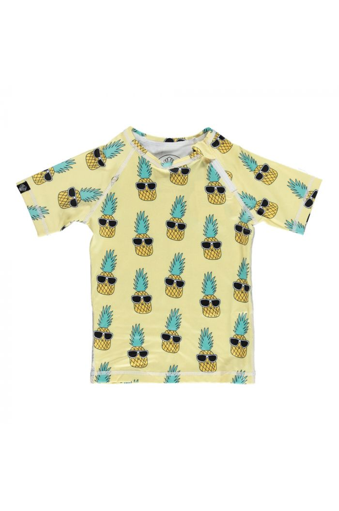Beach & Bandits Punky Pineapple Swim shirt