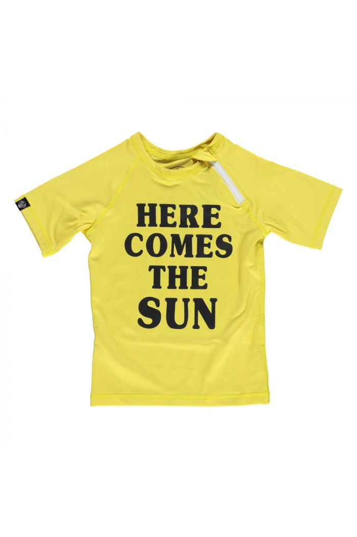 Beach & Bandits Here comes the Sun Top Yellow