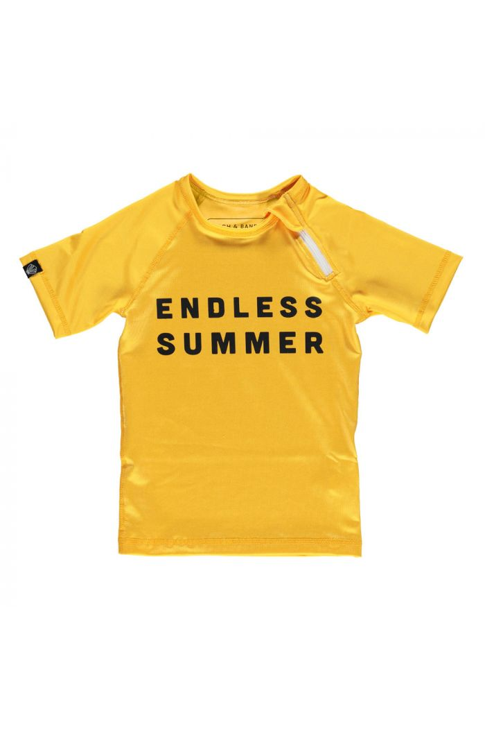 Beach & Bandits Endless Summer Top Burnt Yellow