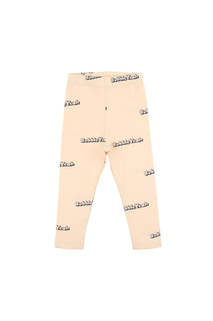 Tinycottons 'bubble yeah' pant cream/navy