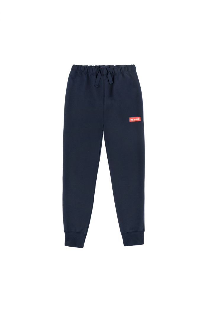 Tinycottons 'smile' pant navy/red