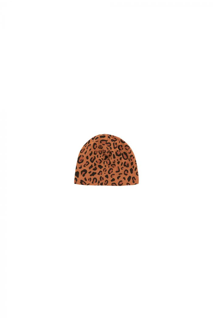 Tinycottons Animal Print Baby Hat brown/dark brown