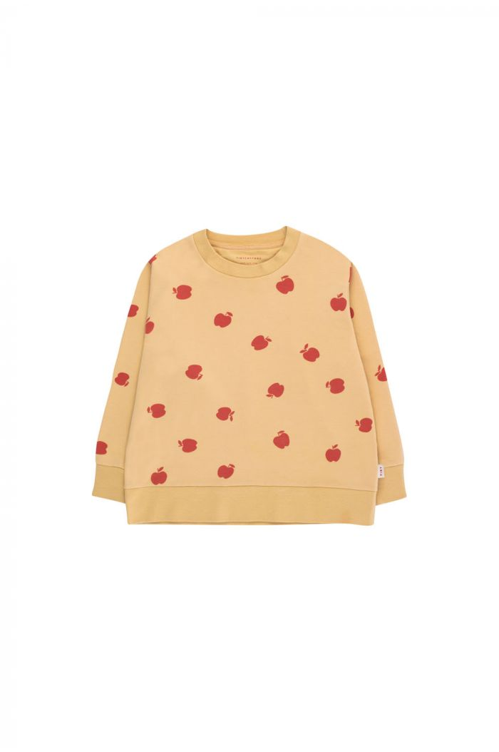 Tinycottons Apples Sweatshirt sand/burgundy