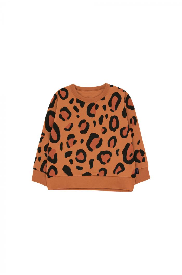 Tinycottons Animal Print Sweatshirt brown/dark brown