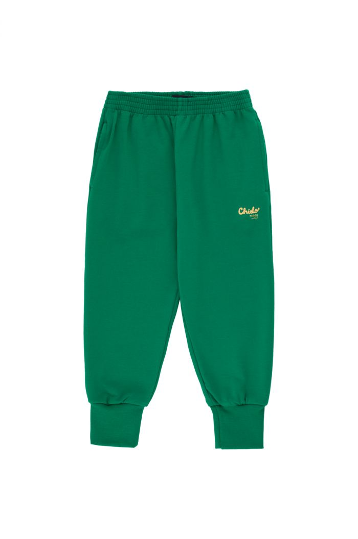 Tinycottons Chido Sweatpant deep green/sand