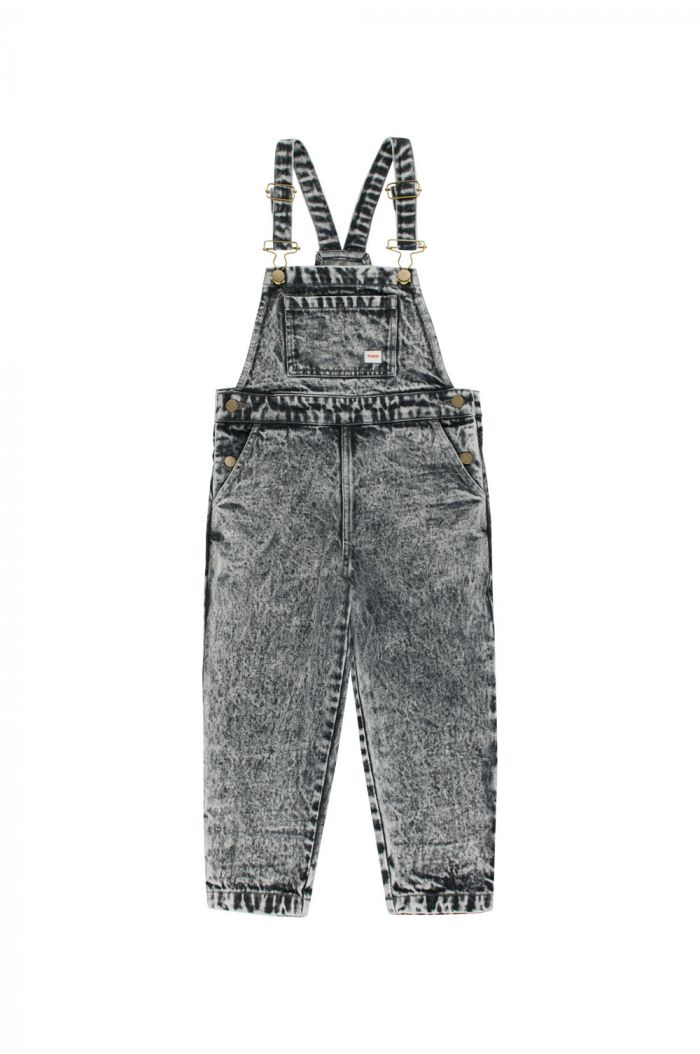 Tinycottons Denim Overall snowy black