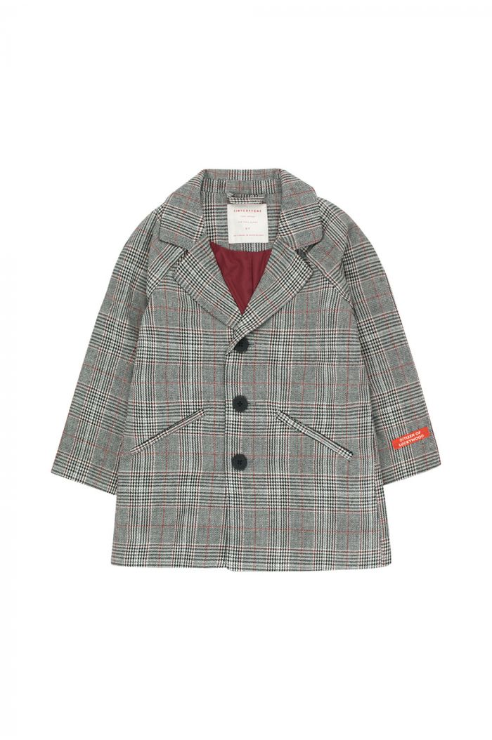 Tinycottons Tweed Coat Multicolor
