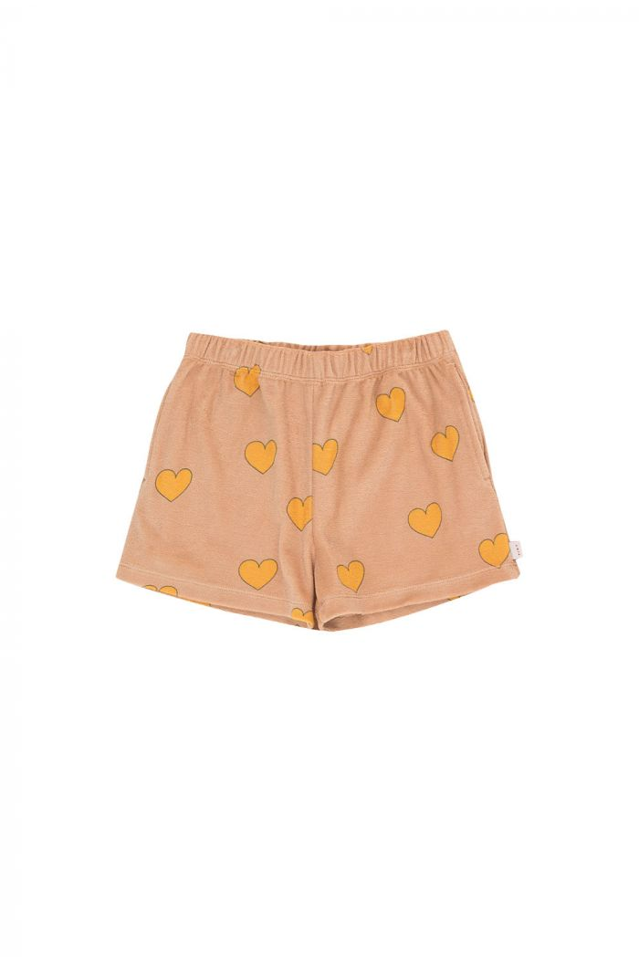 Tinycottons Hearts Short light nude/yellow