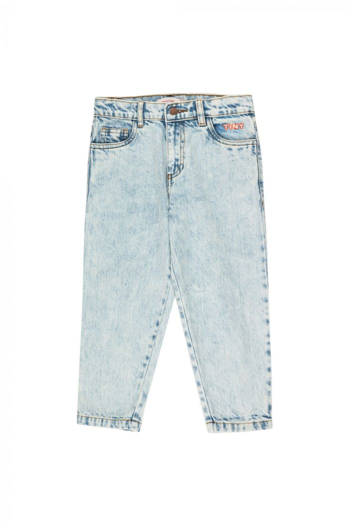 Tinycottons Tiny Baggy Jeans snowy blue