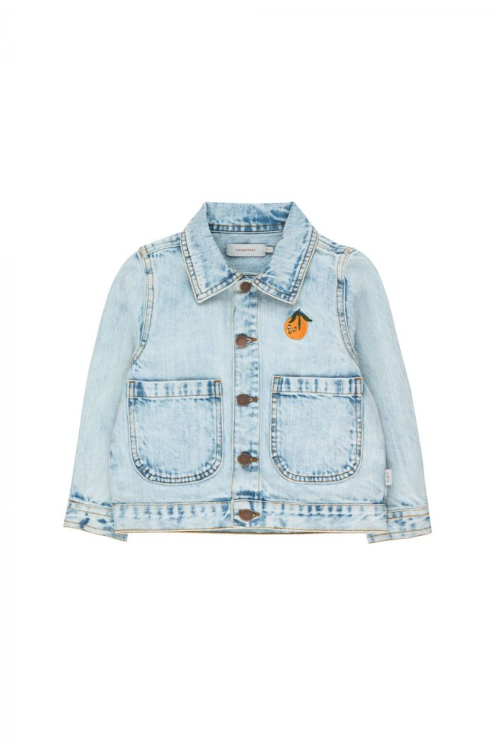 Tinycottons Denim Jacket snowy blue