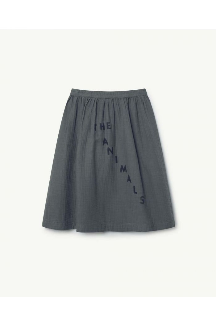 The Animals Observatory SOW KIDS SKIRT Grey Red The Animals