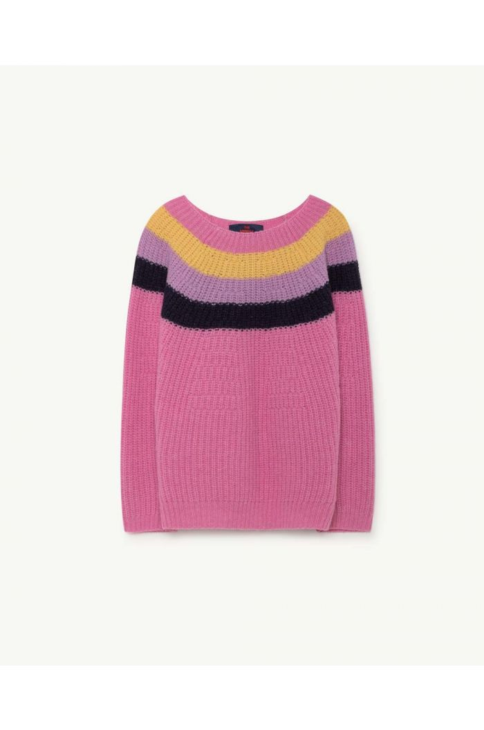 The Animals Observatory RAVEN KIDS SWEATER Fuchsia