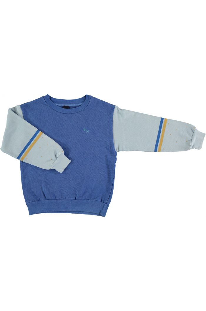 sweatshirt brushstroke  fresh blue
