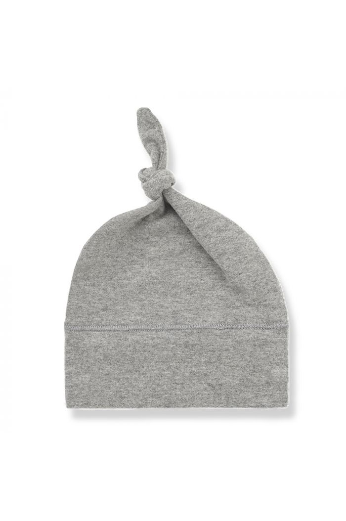 1+ in the family FINA beanie with knot Light Grey
