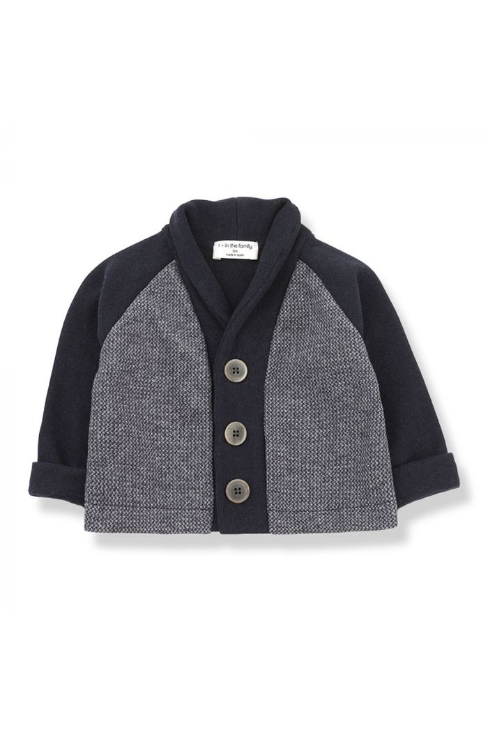 1+ in the family ARMAND Cardigan Blue