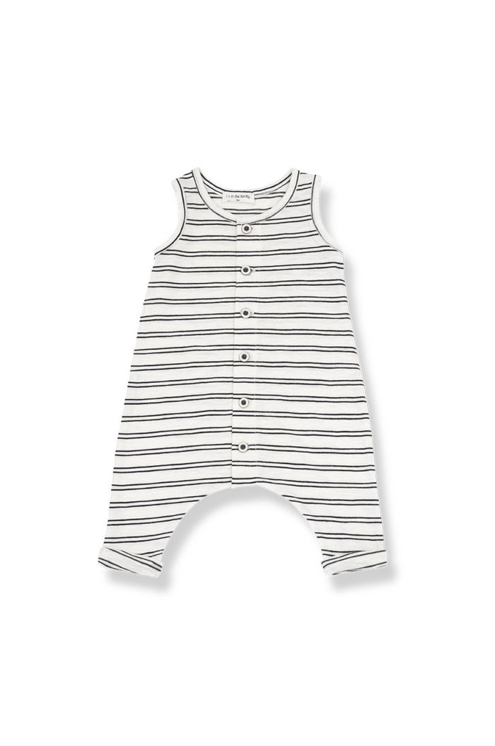 1+ in the family PIET overall Off-white/black