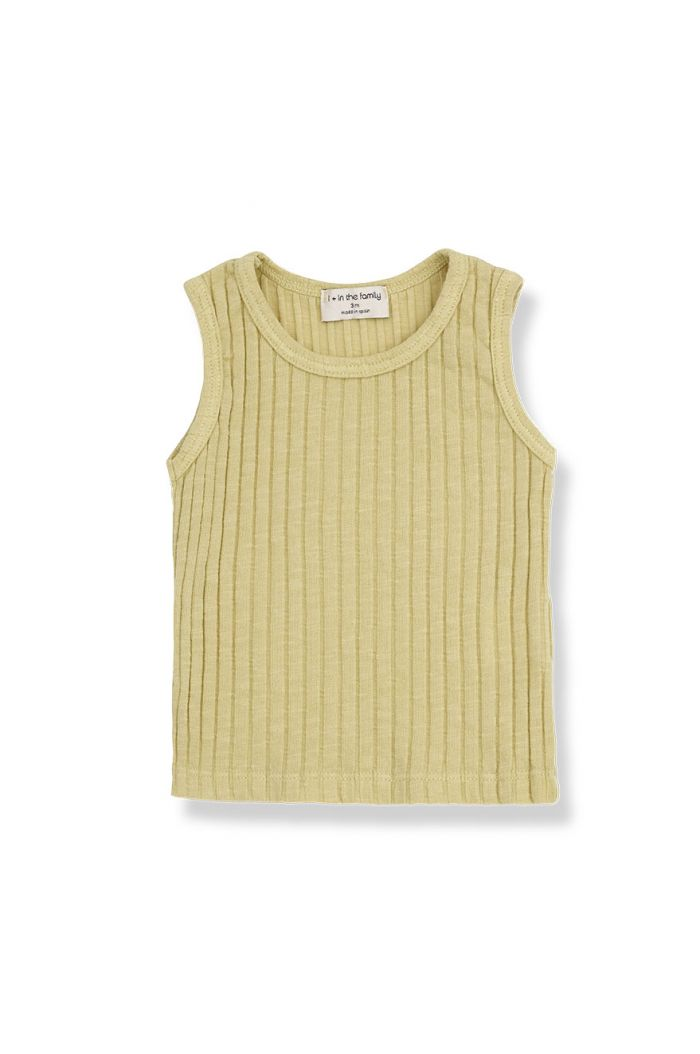 1+ in the family LEA tank top Raffia