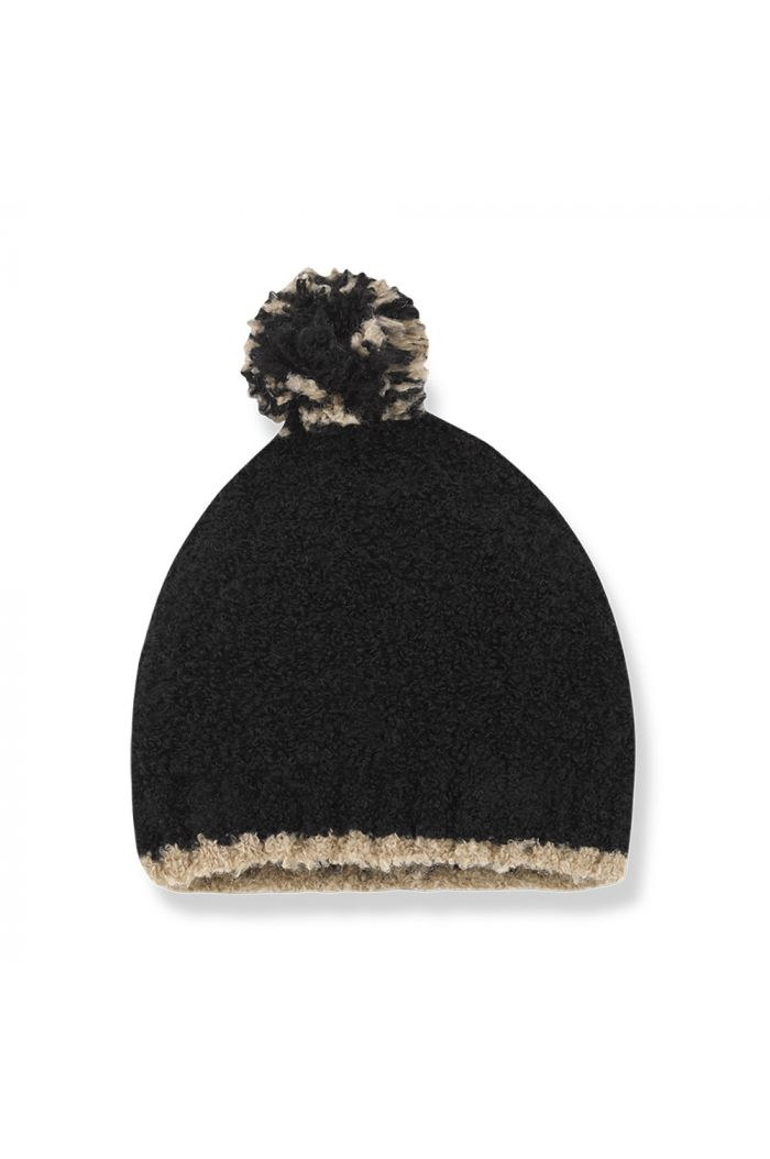 1+ in the family LAUSANNE beanie Black