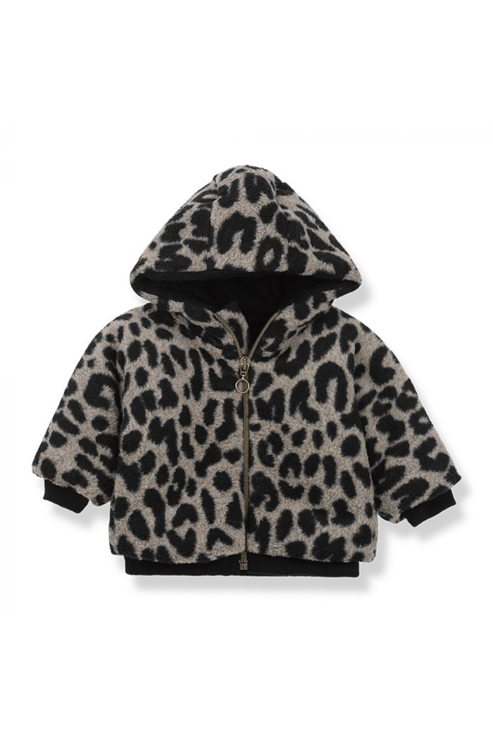 1+ in the family COLUMBIA hood jacket black/beige