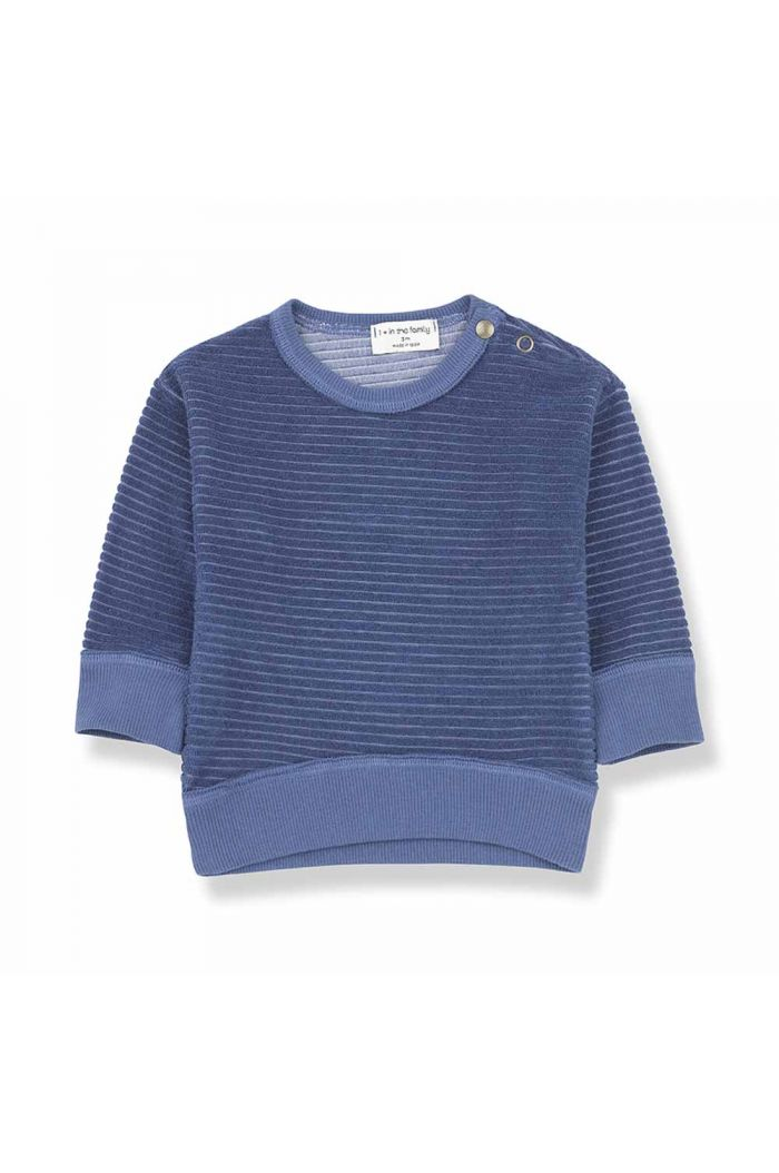 1+ in the family PALAU sweatshirt azzurro