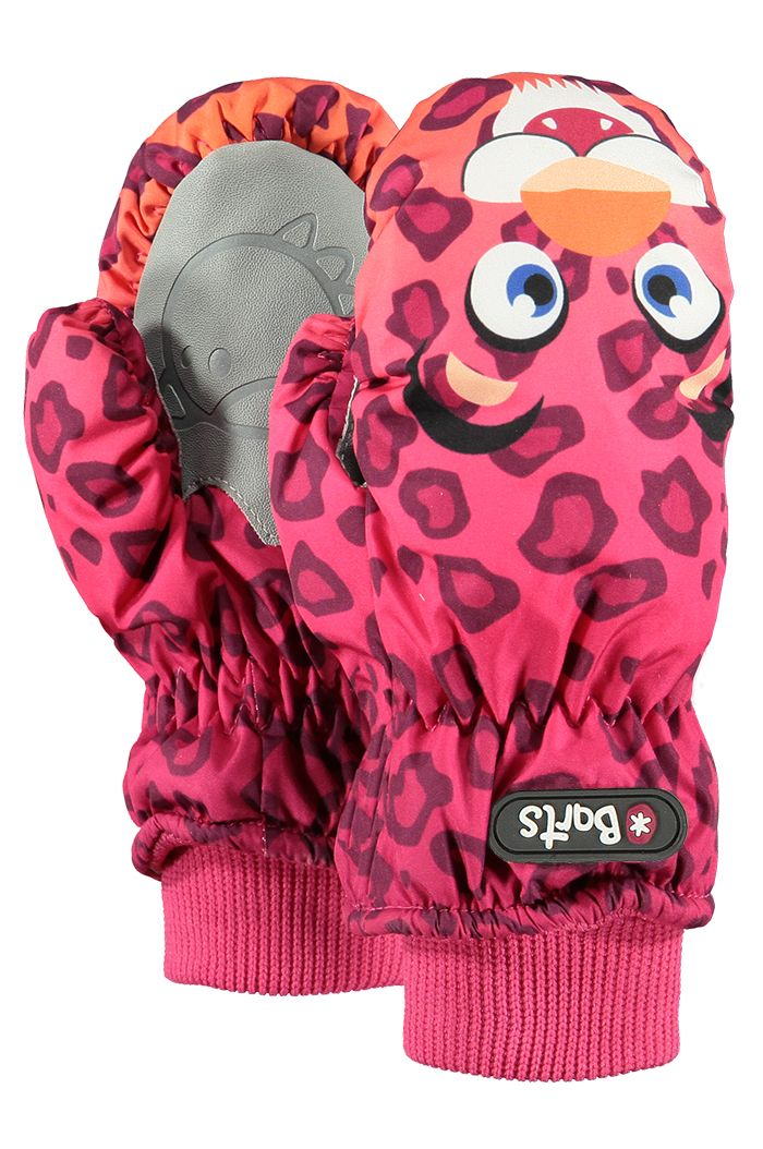 Barts Nylon Mitts Kids Leopard Orange