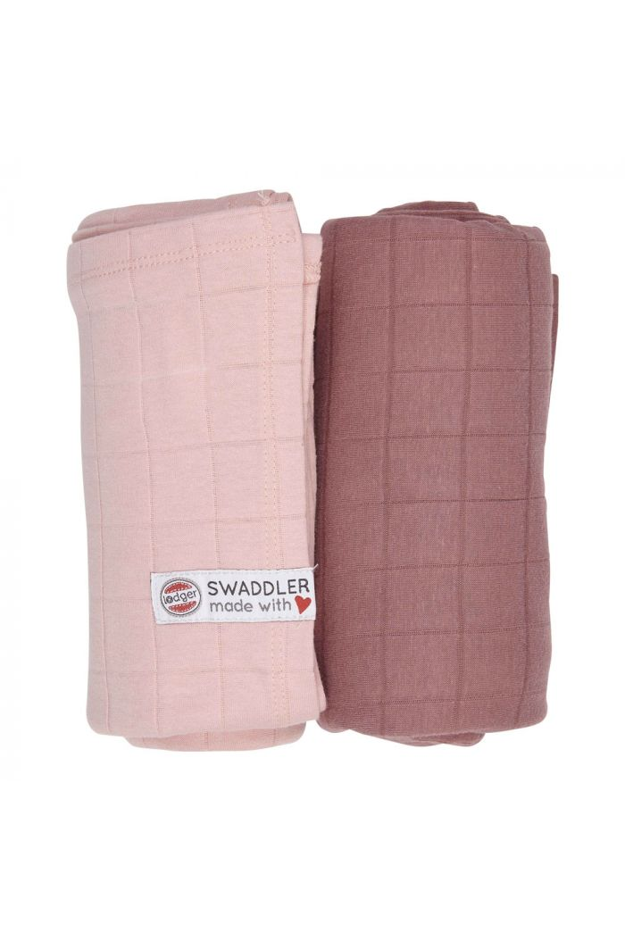 Lodger Swaddler Solid 2-pack Sensitive/Blush