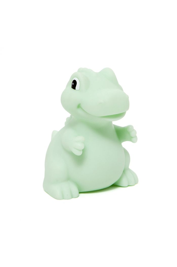 Petit Monkey Dino Night Light T-rex Mint