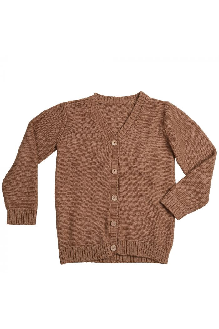 Blossom Kids Knitted cardigan Smoked Hazelnut