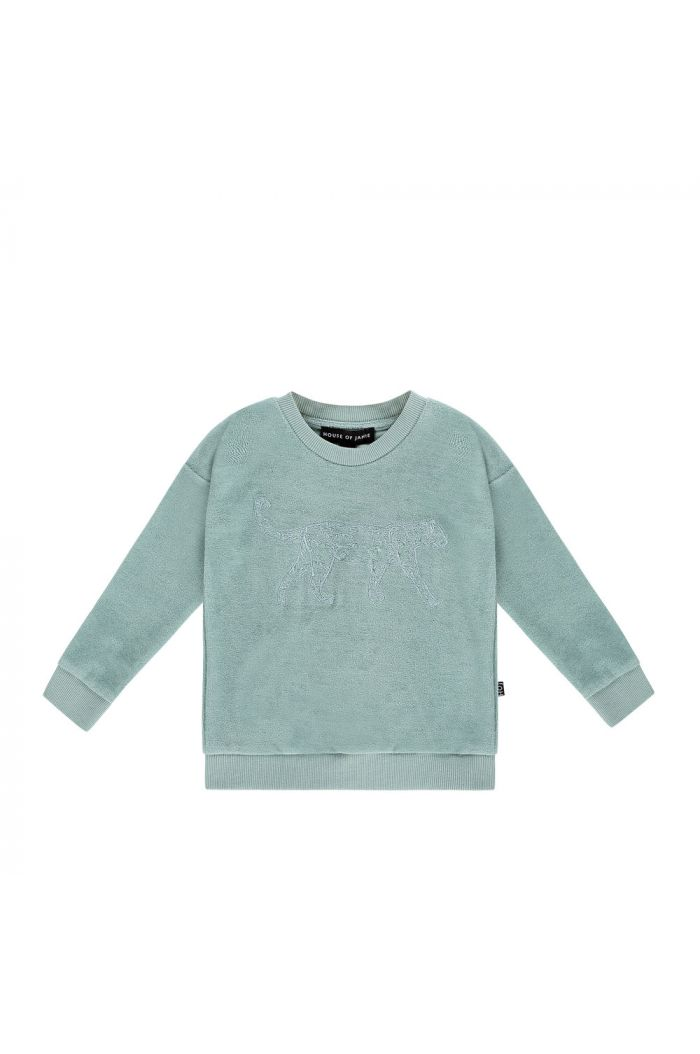 House Of Jamie Crewneck Sweater Jade Leo