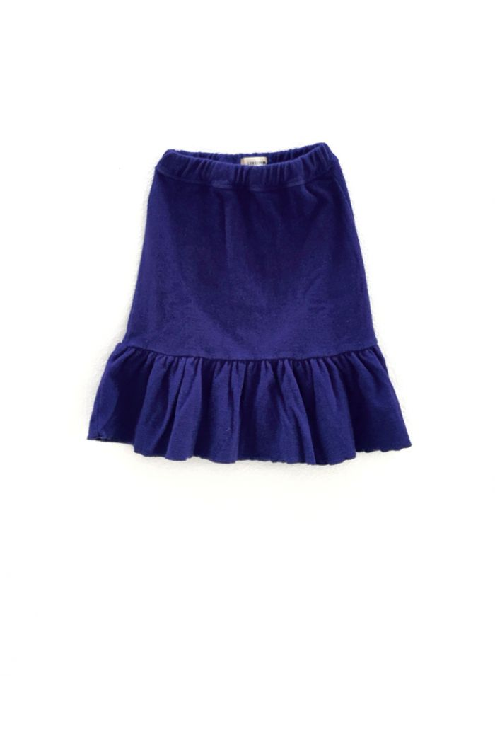 Longlivethequeen Terry Skirt Bright Blue