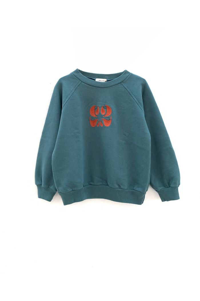 Longlivethequeen raglan sweater dark green
