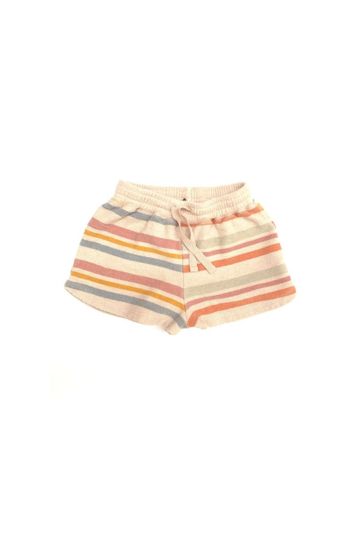 Longlivethequeen terry shorts Stripe