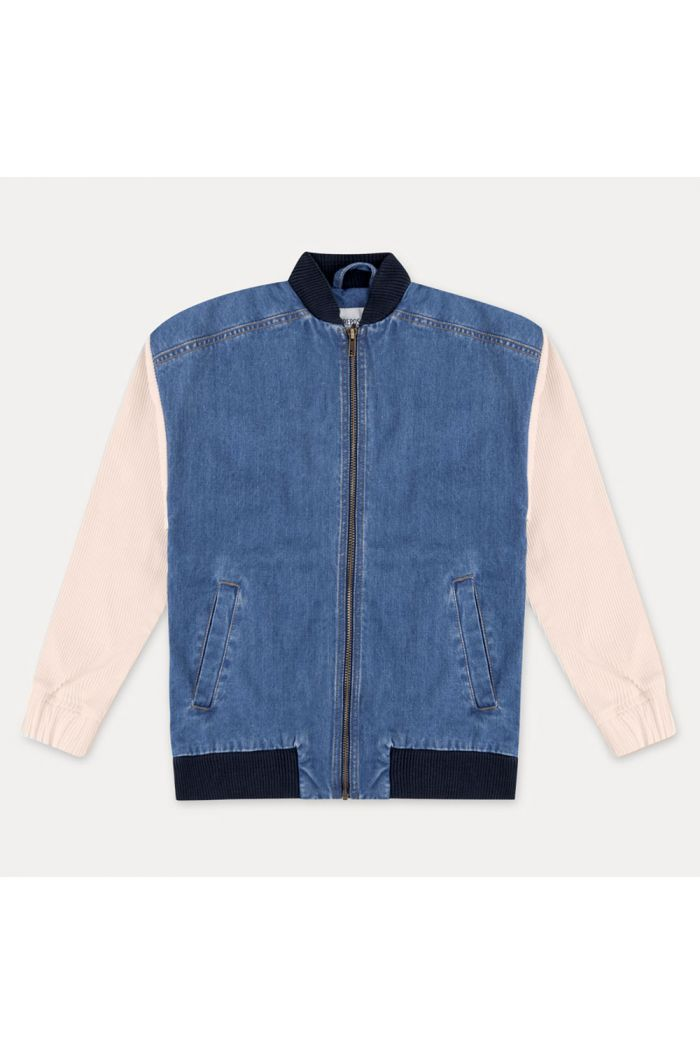 Repose AMS Oversized Bomber  Denim Blue