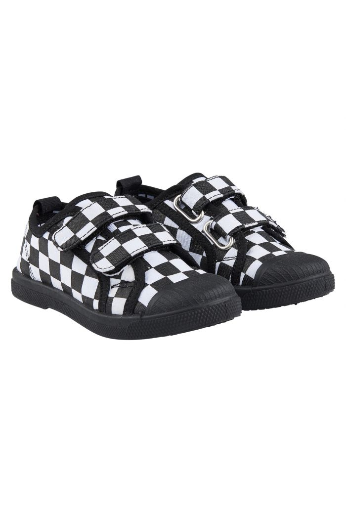 CarlijnQ velcro shoes checkers
