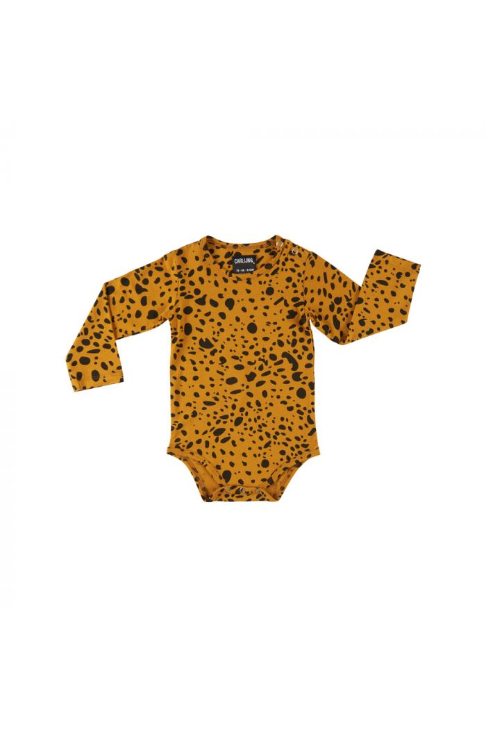 CarlijnQ bodysuit Spotted animal