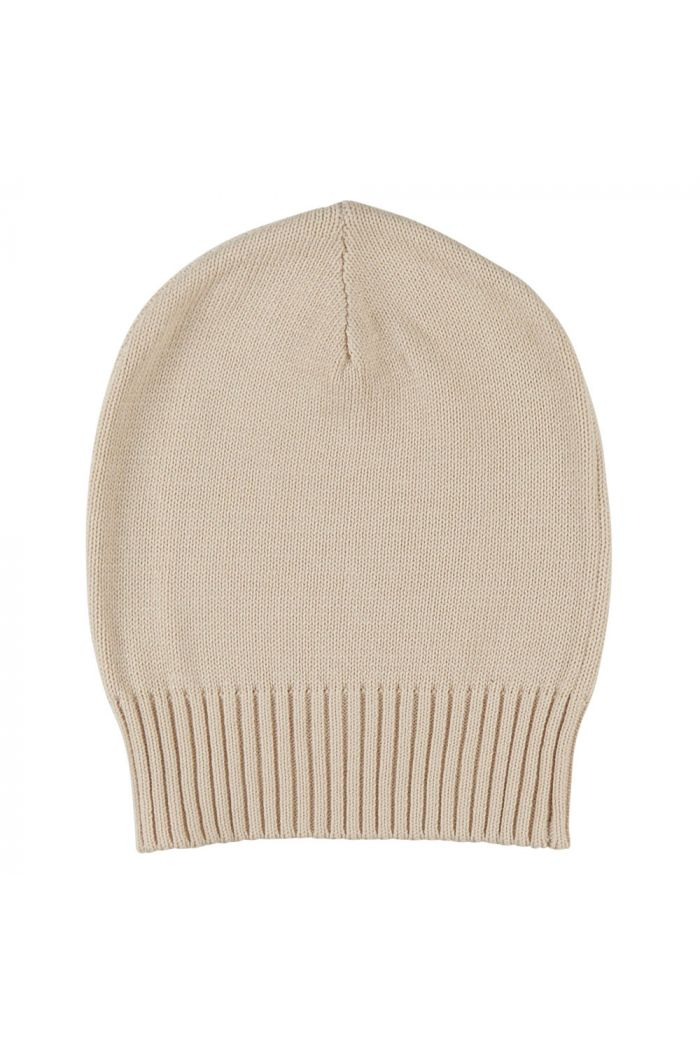 CarlijnQ Beanie (cream) knit basics Cream