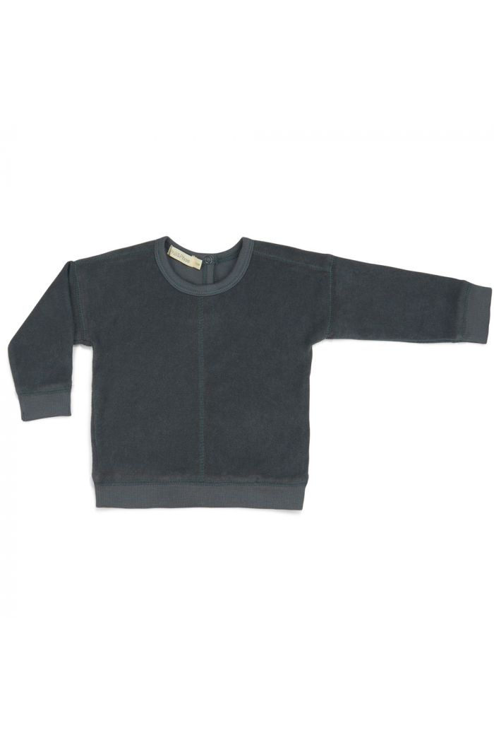 Phil&Phae Frotté sweater slate green