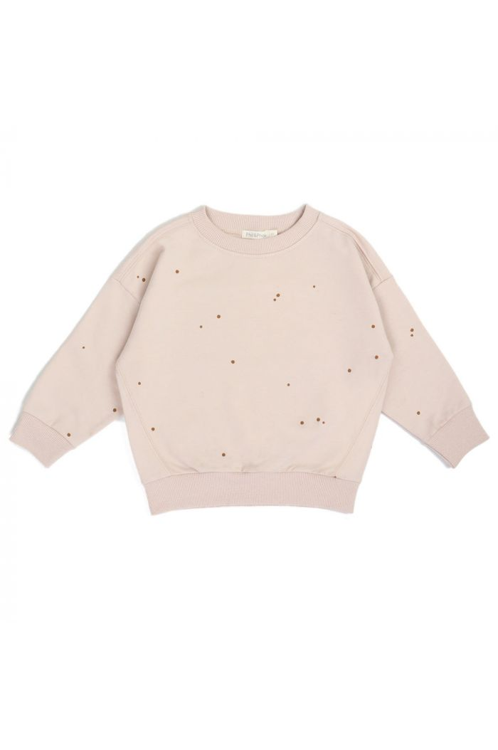 Phil&Phae Oversized summer sweater dots shell