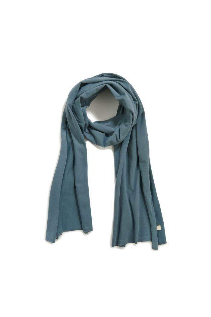 Phil&Phae Basic scarf Balsam Blue