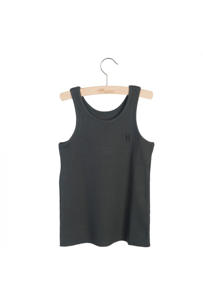 Little Hedonist Tanktop Maddy Pirate Black