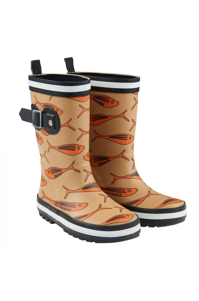 CarlijnQ Rainboots Gold fish