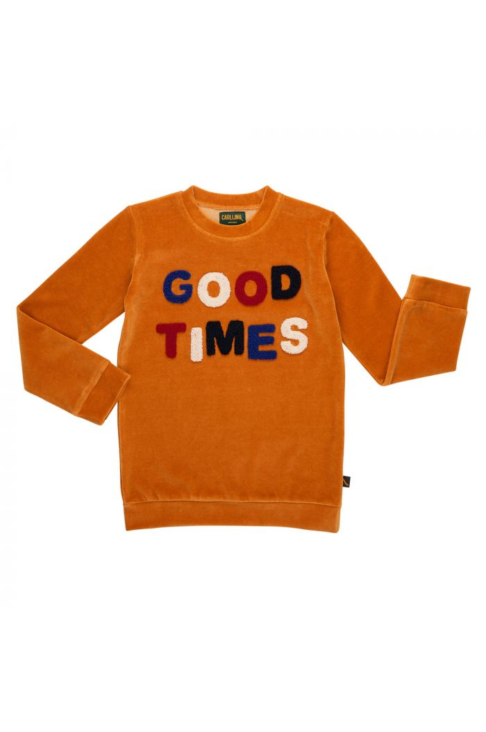 CarlijnQ Sweater 'Good Times' Oranje