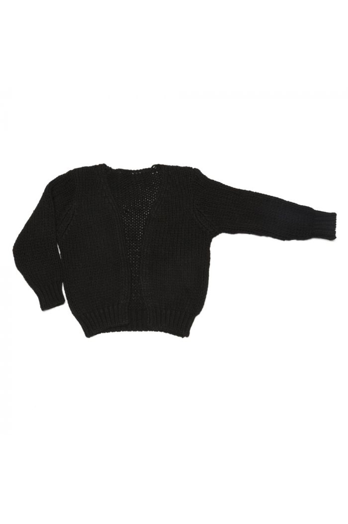 Mingo Cardigan Alpaca knit Black