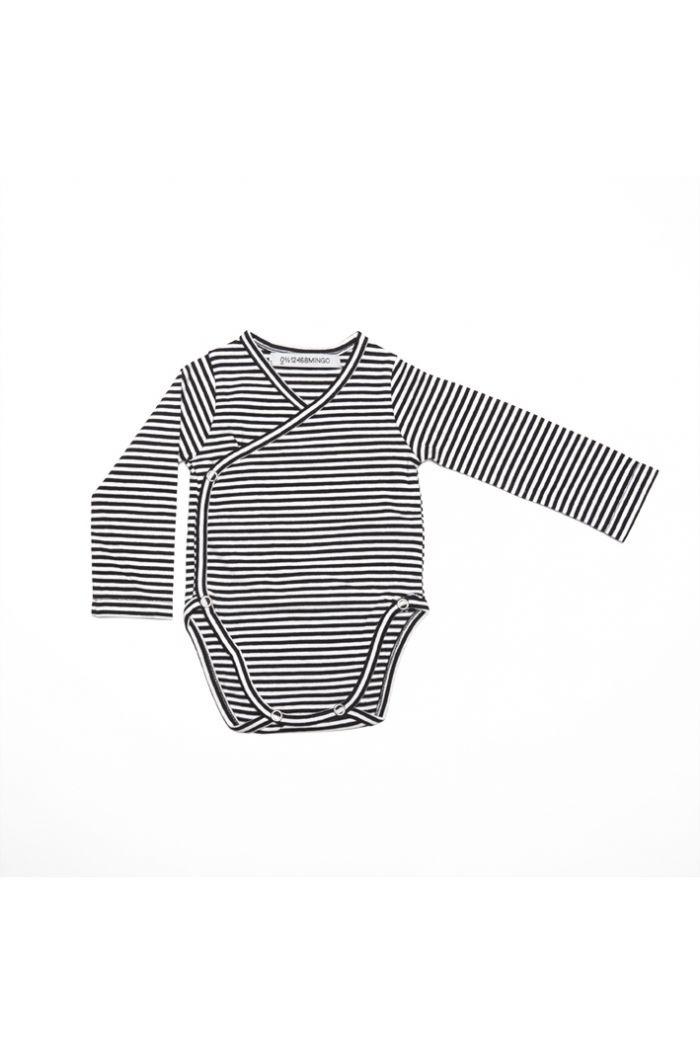 Mingo Wrap Bodysuit Jersey Stripes