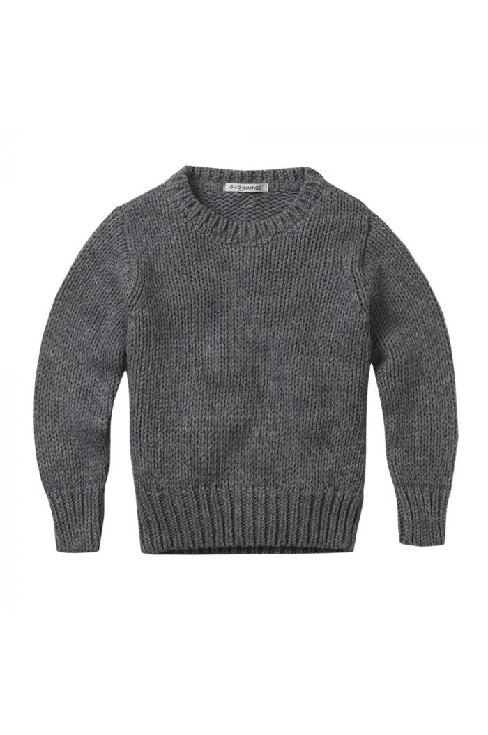 Mingo Sweater knit Grey