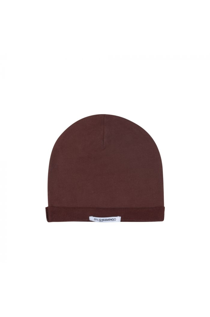 Mingo Beanie sweat Bitter Chocolate