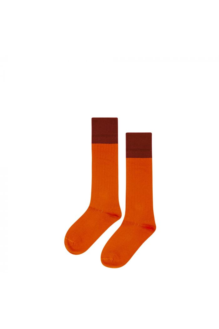 Mingo Knee socks Bitter Chocolate/ Cinnamon