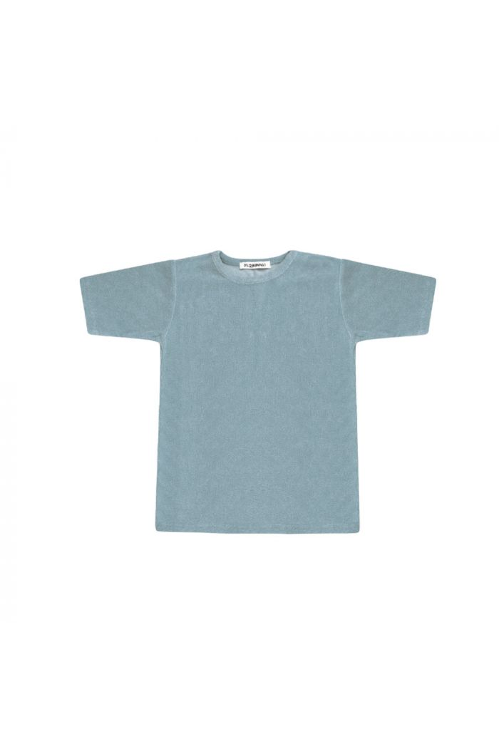 Mingo T-shirt Terry Smoke blue
