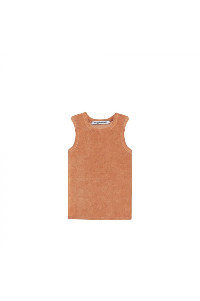 Mingo Singlet Terry Toasted nut